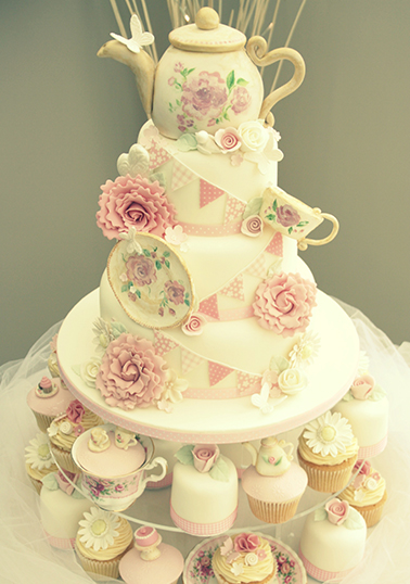 Tea Party Cake Images : Cake Gallery Katies Cupcakes